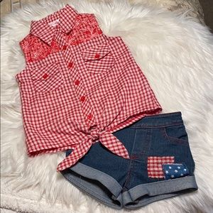 Unik Brand New Outfit Size 2 4th of July outfit!